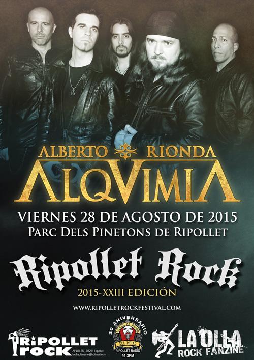 Ripollet Rock Festival 2015 - Alquimia