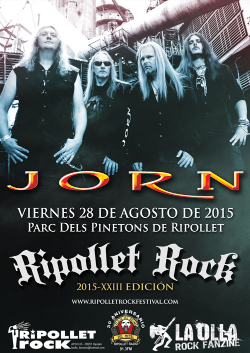 Ripollet Rock Festival 2015 - Jorn