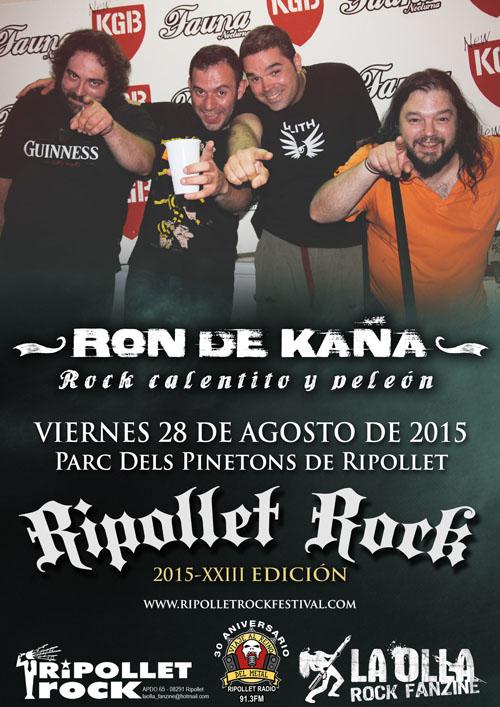 Ripollet Rock Festival 2015 - Ron De Kaña