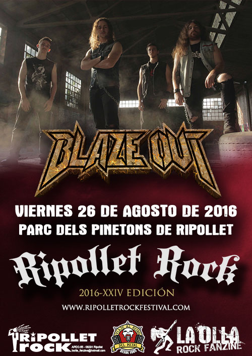 Ripollet Rock Blaze Out