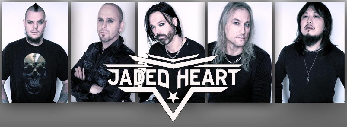 Jaded Heart cierran el cartel