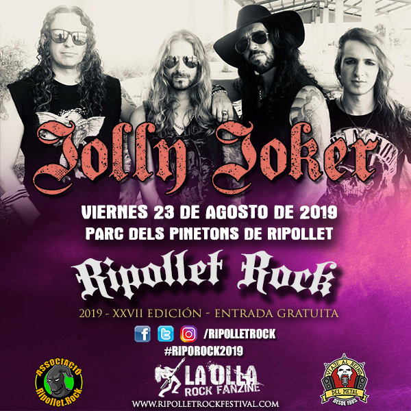 Jolly Joker Ripollet Rock Festival 2019
