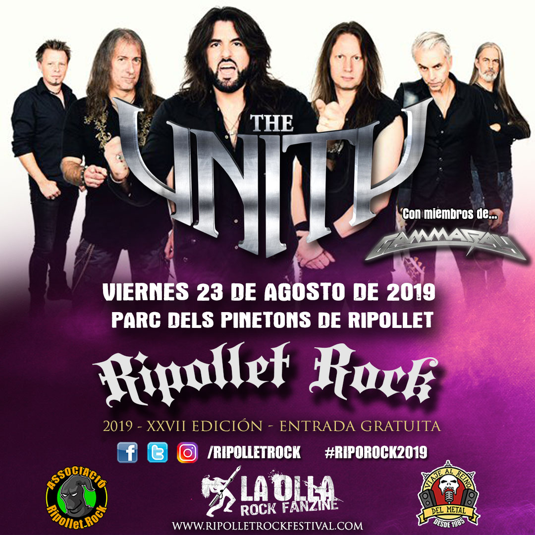 The Unity Ripollet Rock Festival 2019