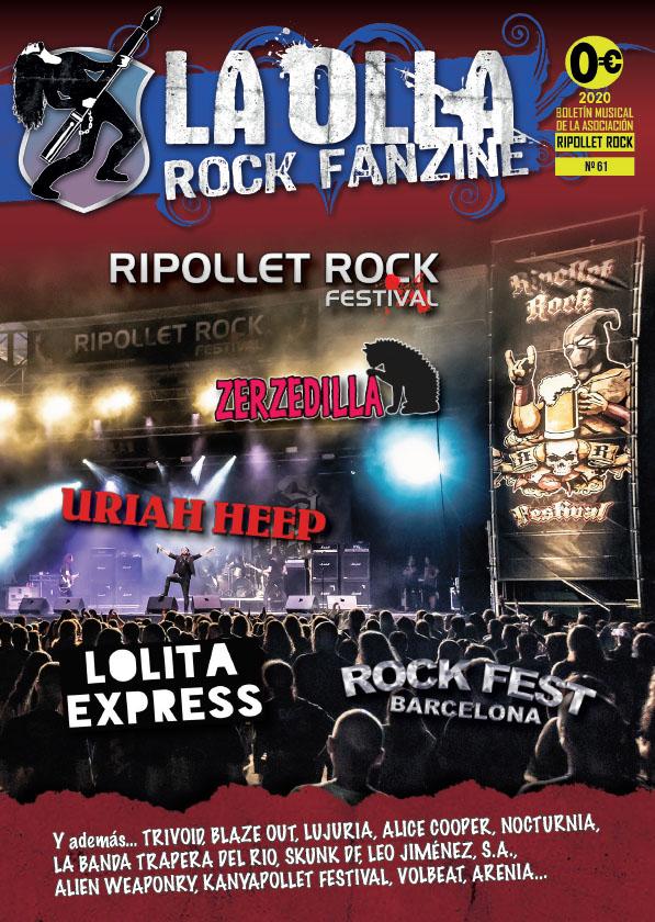 La Olla Rock Fanzine 61