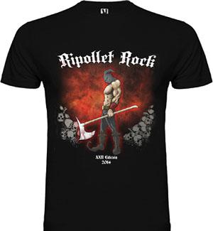 Camiseta Ripollet Rock Festival 2014