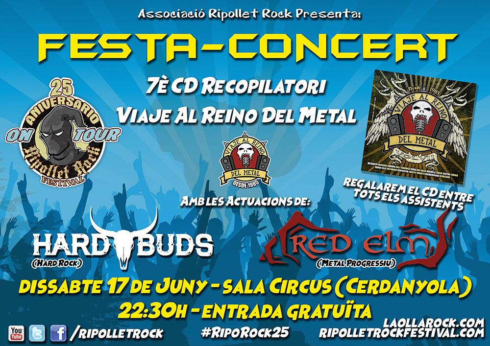 7 Fiesta Concierto CD Recopilatorio Viaje Al Reino Del Metal