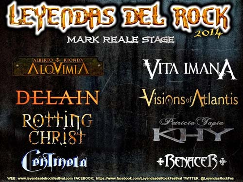 Leyendas del Rock 2014 - Escenario Mark Reale