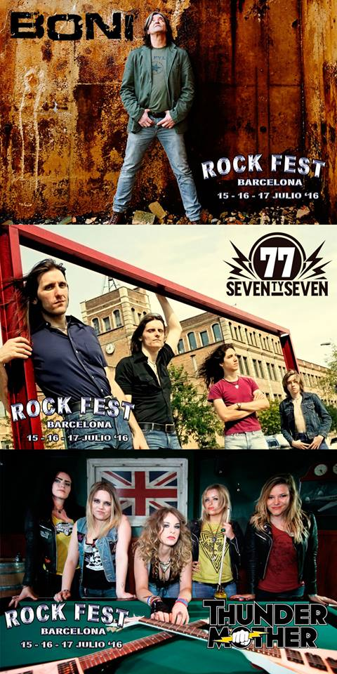 Rock Fest BCN 2016