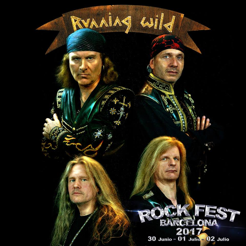 Running Wild al Rock Fest BCN 2017