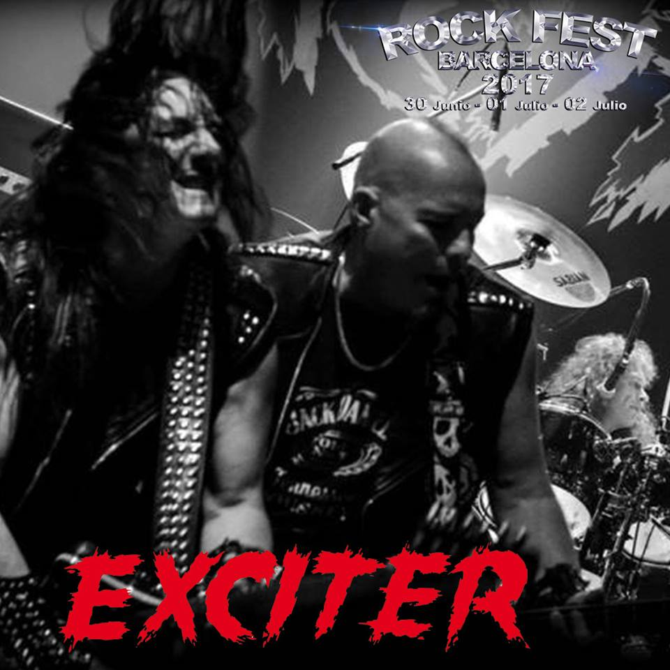 Rock Fest BCN 2017 Exciter