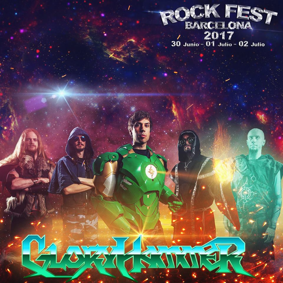 Rock Fest BCN 2017 GloryHammer