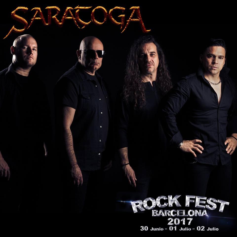 Rock Fest BCN 2017 Saratoga