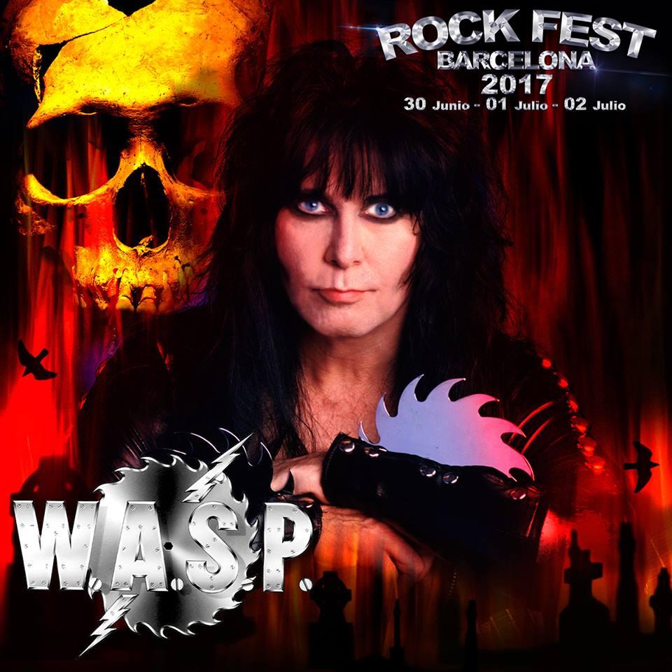 Rock Fest BCN 2017 WASP