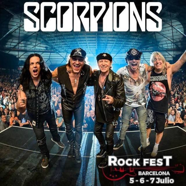 Scorpions Rock Fest BCN 2018