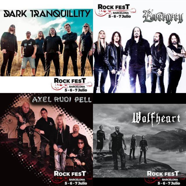 4 Nuevas confirmaciones para el Rock Fest BCN 2018