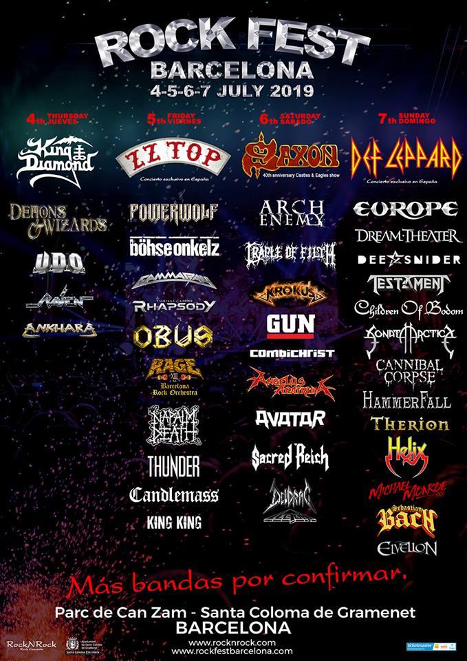 Rock Fest BCN 2019