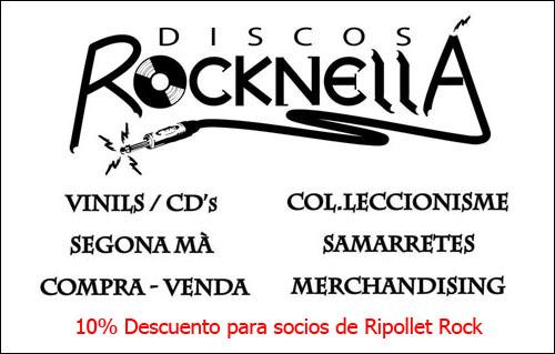 Discos Rocknellá