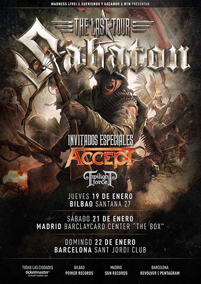 Sabaton Accept Twilight Force