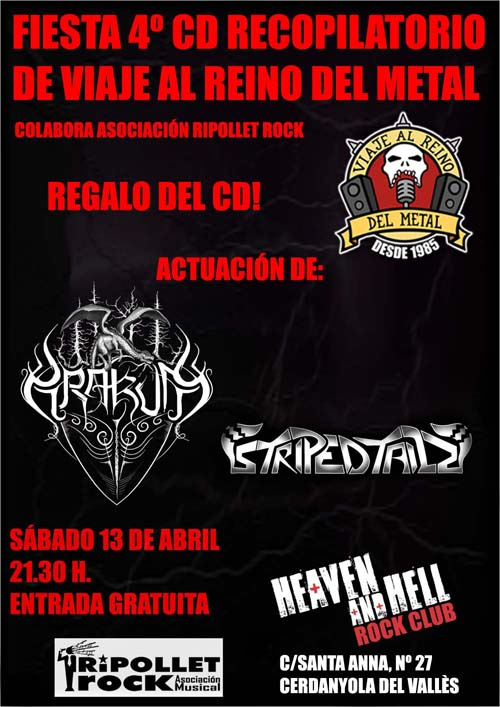 Fiesta 4º CD Recopilatorio Viaje Al Reino Del Metal