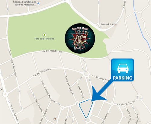 Ripollet Rock Festival - Parking