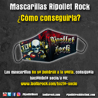 Mascarillas Ripollet Rock